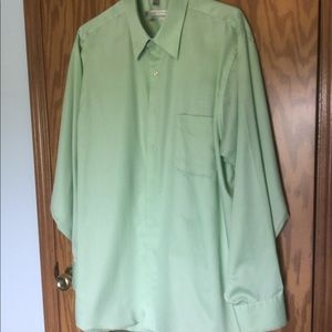 "EUC Geoffrey Beene mint color 17"" 34/35"